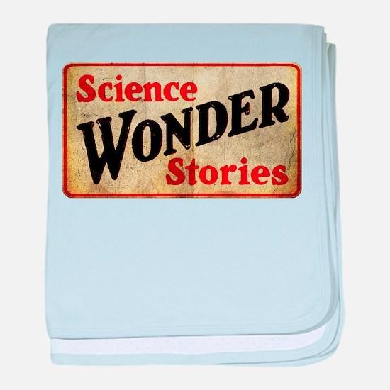Science Wonder Stories baby blanket