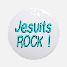 Jesuits Rock ! Ornament (Round)