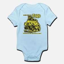 Eat Dirt vintage hot rod custom car Body Suit