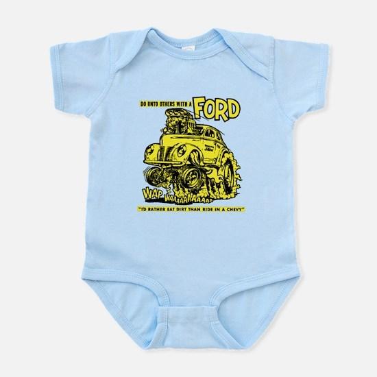 Eat Dirt vintage hot rod custom car Body Suit