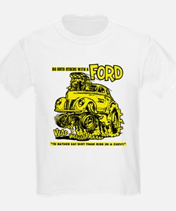 Eat Dirt vintage hot rod custom car T-Shirt