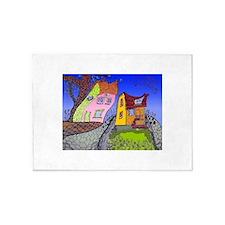 Love house 5'x7'Area Rug