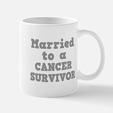 Married to a Cancer Survivor Mug