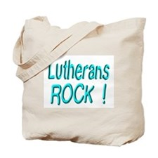 Lutherans Rock ! Tote Bag