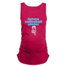 Future volleyball player - Maternity Tank Top