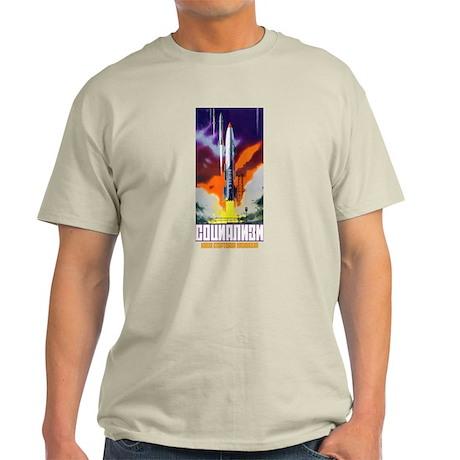 Soviet in Space scifi vintage propagan T-Shirt