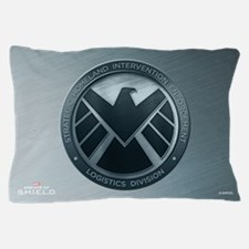 Maos Brushed Metal Shield Pillow Case