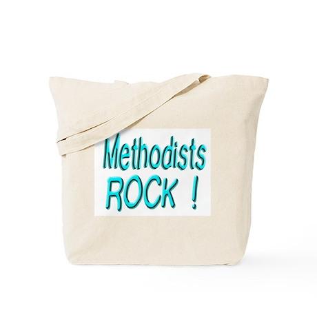 Methodists Rock ! Tote Bag