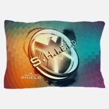Maos Shield Abstract Pillow Case
