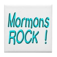 Mormons Rock ! Tile Coaster