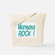 Mormons Rock ! Tote Bag