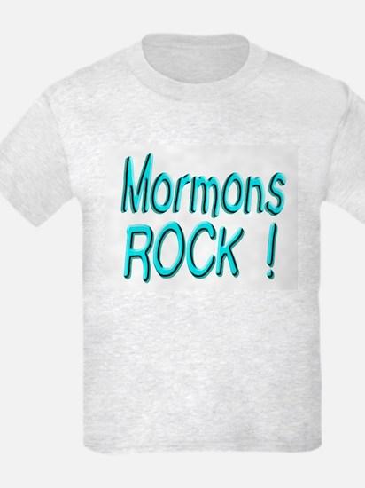 Mormons Rock ! T-Shirt