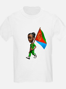 Eritrea Girl T-Shirt