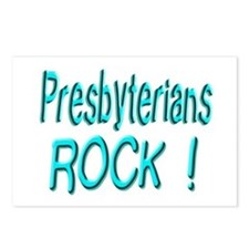 Presbyterians Rock ! Postcards (Package of 8)