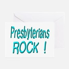 Presbyterians Rock ! Greeting Cards (Pk of 10)
