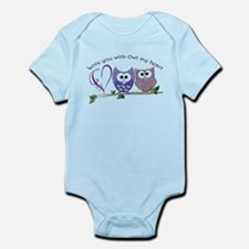 Love you with Owl my heart Body Suit