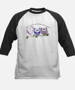 Love you with Owl my heart Baseball Jersey