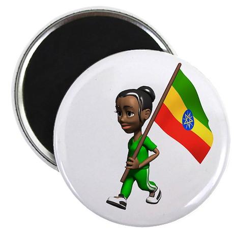 Ethiopia Girl Magnet