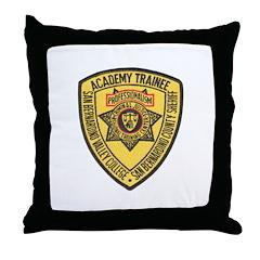San Bernardino Academy Throw Pillow