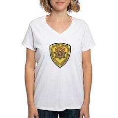 San Bernardino Academy Women's V-Neck T-Shirt
