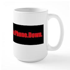 Put the phone down Mugs