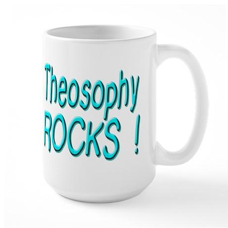 Theosophy Rocks ! Large Mug