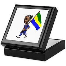 Gabon Girl Keepsake Box