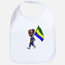 Gabon Girl Bib