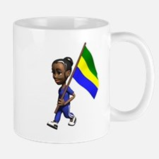 Gabon Girl Mug