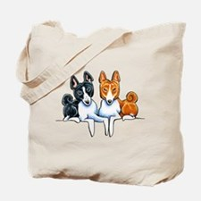Basenji Buds Tote Bag