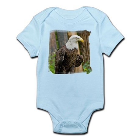 Bald Eagle Looking Infant Bodysuit