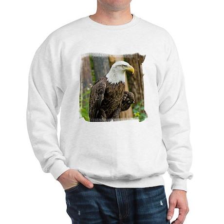 Bald Eagle Looking Sweatshirt