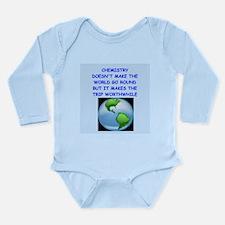 CHEMISTRY Long Sleeve Infant Bodysuit