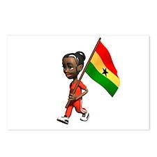Ghana Girl Postcards (Package of 8)