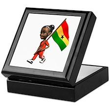 Ghana Girl Keepsake Box