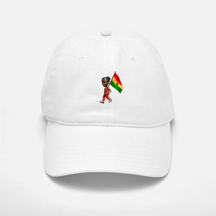 Ghana Girl Baseball Baseball Cap