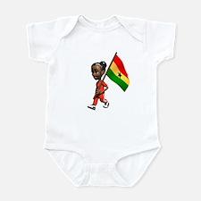 Ghana Girl Infant Bodysuit
