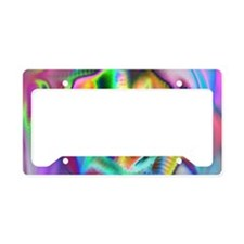 Cute 1960s License Plate Holder