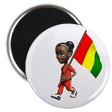 Guinea Girl Magnet