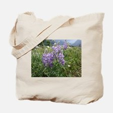 Unique Lupine Tote Bag