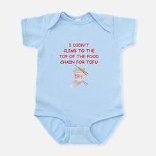 food chain Infant Bodysuit