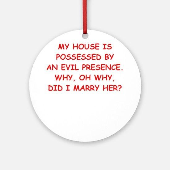 possessed Ornament (Round)