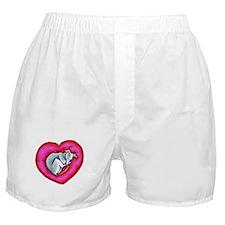 Grey Snuggle Bug Boxer Shorts
