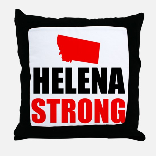 Helena Strong Throw Pillow
