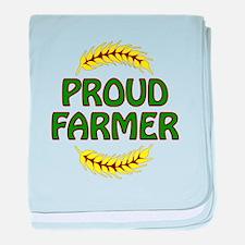 Proud Farmer 1 baby blanket