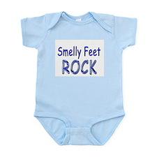Smelly Feet Rock Infant Bodysuit