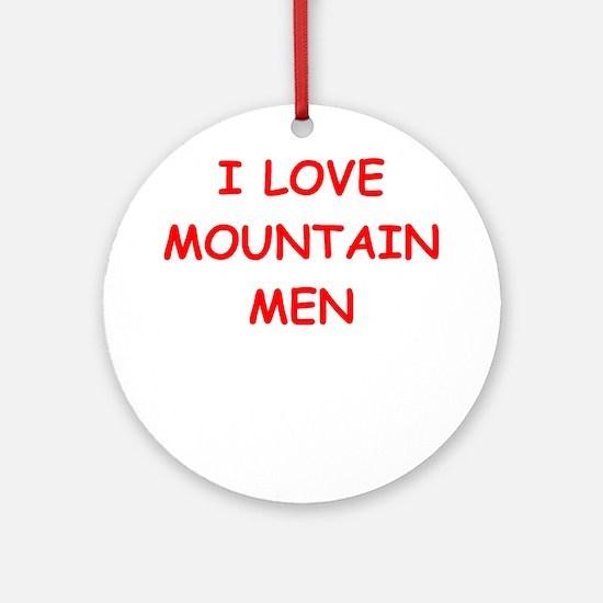 mountain men Ornament (Round)