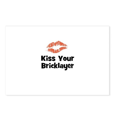 Kiss Your Bricklayer Postcards (Package of 8)