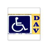Disabled vet Bumper Stickers