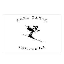 Lake Tahoe California Ski Postcards (Package of 8)